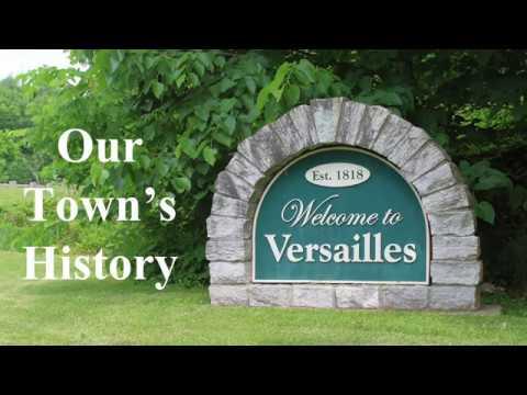 Versailles, Indiana Bicentennial: Eli Hunter House & Dr. W.T.S. Cornett Office