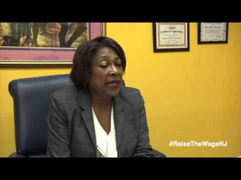 Sen. Sandra Cunningham on Raising the Minimum Wage in New Jersey