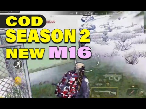 COD Mobile SEASON 2 Battle Royale Gameplay With NEW M16 Gun