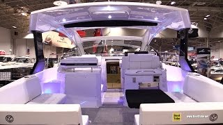 2016 Cruisers Yachts 390 Express Coupe Motor Yacht - Walkaround - 2016 Toronto Boat Show