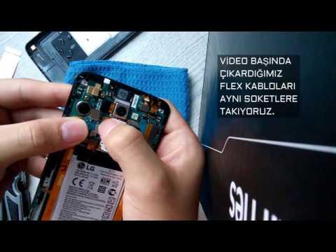LG G2 BATARYA DEĞİŞİMİ VE ARKA KAPAK ÇIKARMA (AYRINTILI VE KOLAY ANLATIM)