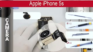 how to replace rear facing camera apple iphone 5s a1533 a1453 a1457 a1530