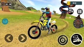 Motocross Beach Bike Stunt Racing 2018 || Offroad Bike Racing Game 3D || Bike Games