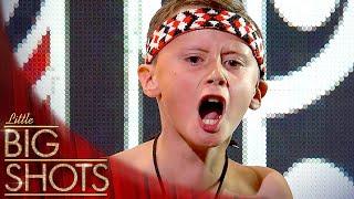 Jacob's Inspiring Haka Performance | Little Big Shots