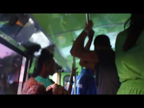 Music In Public Transport Of Barbados / Музыка В Общественном Транспорте Барбадоса