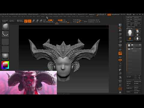 Willow streams: 3D modelling Lilith for 3D printing