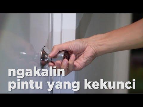 Cara Membuka Pintu Pvc R Mandi Yang