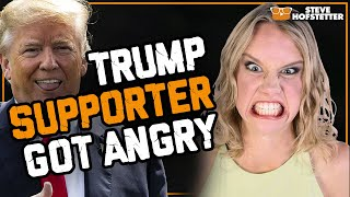 Trump Supporter Heckler Gets Owned - Steve Hofstetter