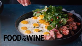 Steak and Quail Eggs   Recipe   Food & Wine