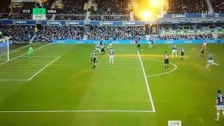 Everton vs West brom 11/3/2017 (Mirallas goal)