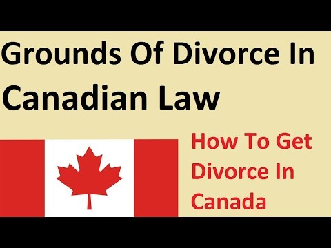 Grounds For Divorce In Canada