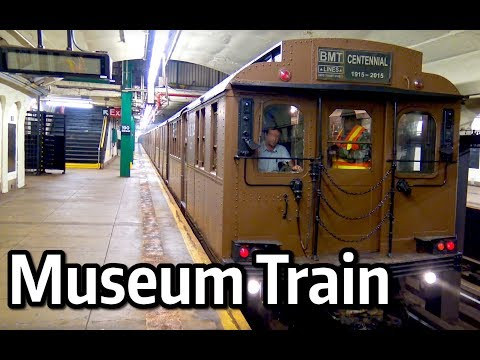 ⁴ᴷ BMT AB and D Type Museum Train Excursion to Greenwood Cemetery