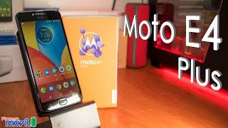 Moto E4 Plus - Unboxing en Español