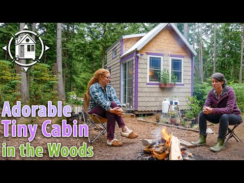 Adorable TINY HOUSE on Wheels - Built w/ Reclaimed Materials