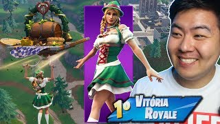 I BOUGHT THE NEW SKIN OF THE OKTOBERFEST * EPIC * AND I KILLED GENERAL!! -Fortnite Battle Royale
