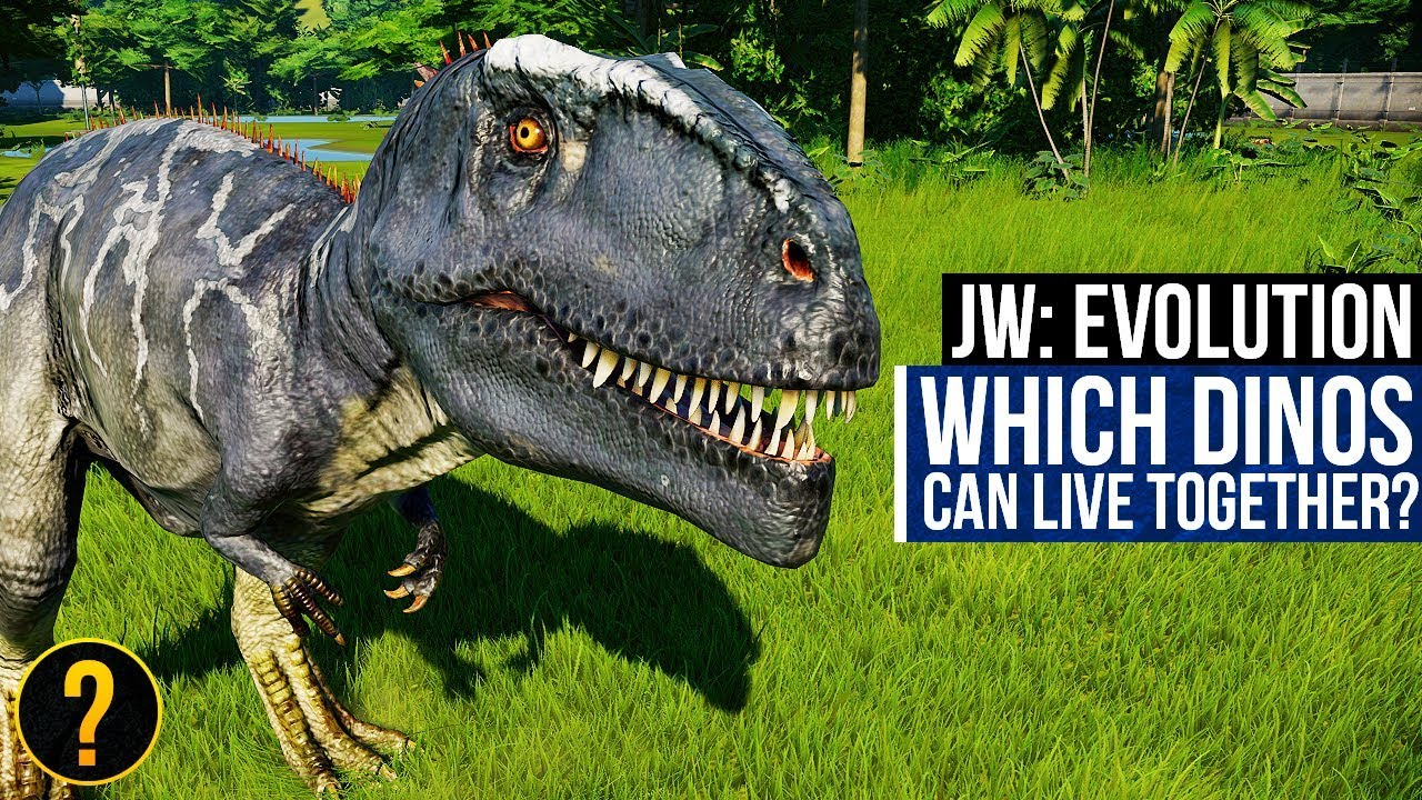 WHICH DINOSAURS CAN LIVE TOGETHER? | Jurassic World: Evolution Dinosaur Compatibility Guide