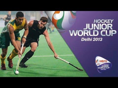 South Africa vs New Zealand - Men's Hero Hockey Junior World Cup India  [09/12/2013]