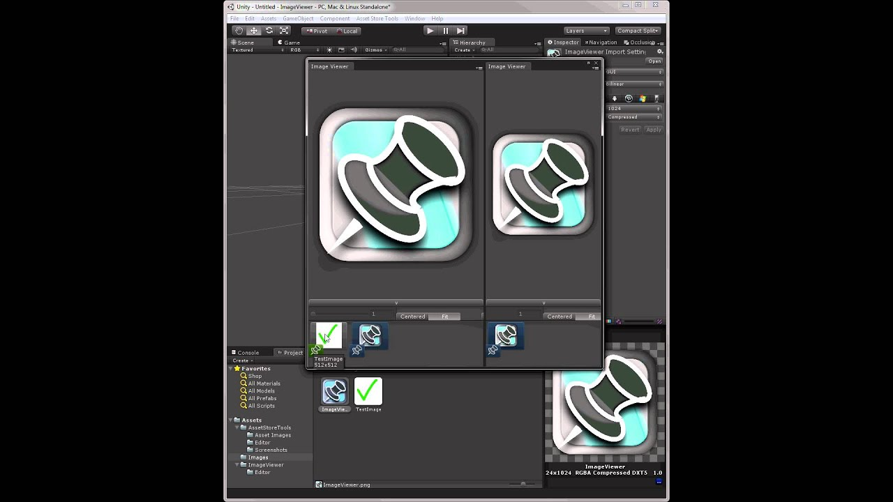 Unity Asset Store - Image Viewer Demo 1