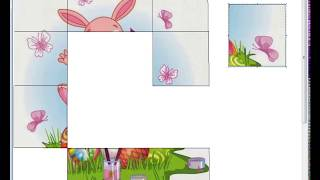 Cute Easter Bunny - Puzzles and songs for children