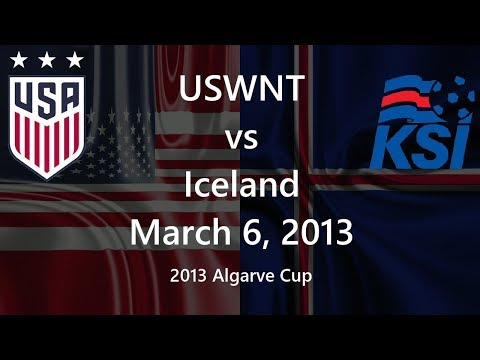 USWNT vs Iceland March 6, 2013