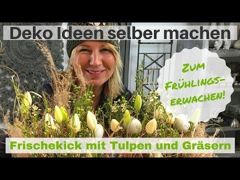 DIY-Deko Ideen zum selber machen – kreative Tulpen Ideen zum selbermachen von Imke Riedebusch
