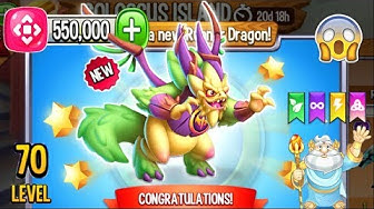 Dragon City: New Dawn Dragon, plus all Spring Island   Completed 2020 😱