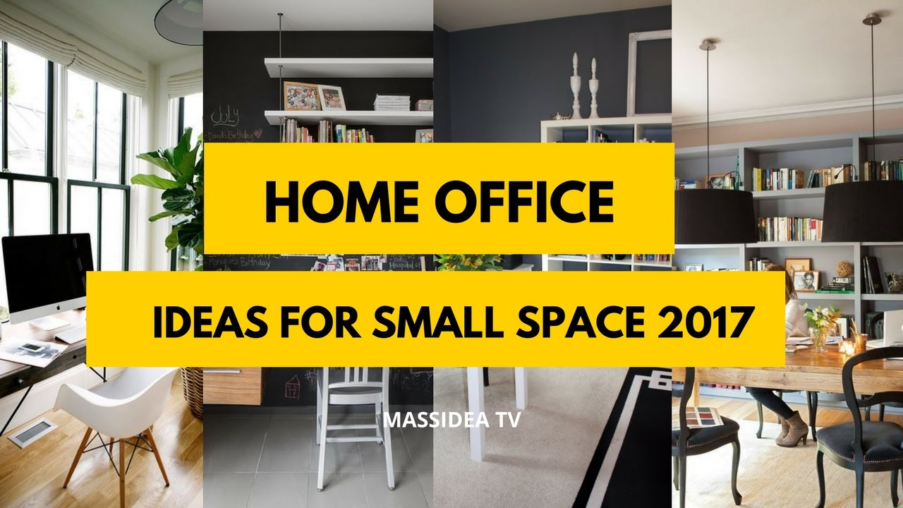 50+ Best Home Office Design Ideas for Small Space 2017 - YouTube
