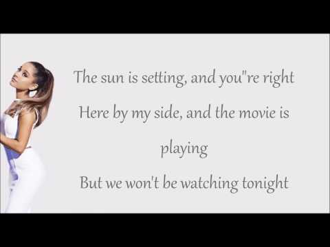 Moonlight - Ariana Grande (lyric)