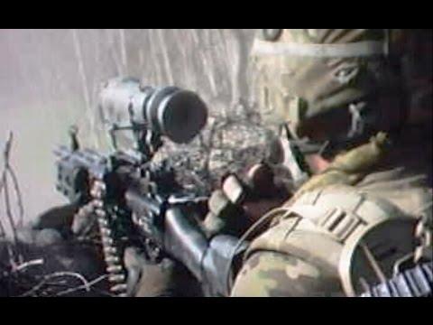 U.S. Recon Team Assaults Taliban Position Under Fire