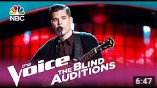 The Voice 2017 Dave Crosby Blind Audition  I Will Follow You into the Dark  The voice USA