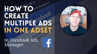 Erstellen Sie Mehrere Anzeigen In Einer Anzeige-Set Auf Der Facebook Ads Manager