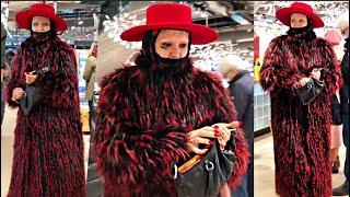 СТРИТ СТАЙЛ зимний КАК УТЕПЛИЛИСЬ модницы Петербурга ПАЛЬТО ПУХОВИКИ ШУБЫ ОБУВЬ ЗИМА Что надето