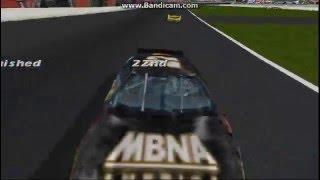NASCAR Revolution (PC) Race #5 Gameplay (Ward Burton) (Atlanta) (9 Laps)