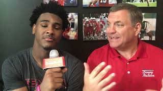 Kenny McIntosh discusses his nickname, path to UGA, @MikeGriffith32 video