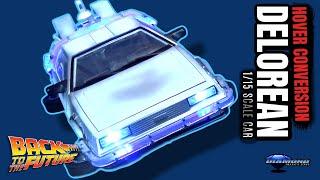 Diamond Select Back to the Future Part 2 Frozen Hover Conversion Delorean 1/15 Car | Video Review