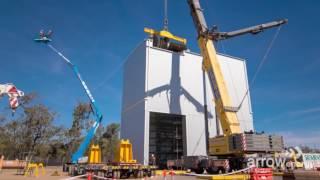 Arrow Energy Braemar 2 turbine maintenance timelapse
