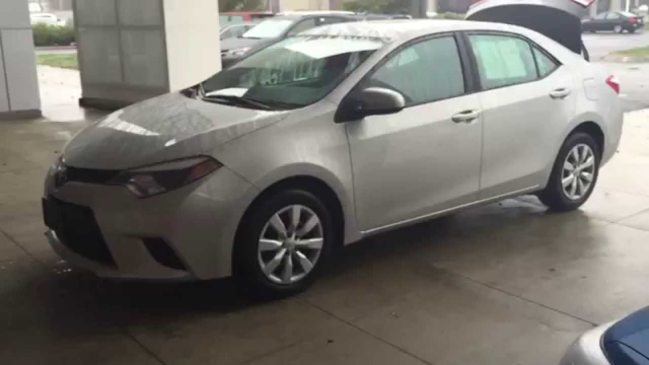 Good 2014 Toyota Corolla At Balise Toyota In West Springfield MA