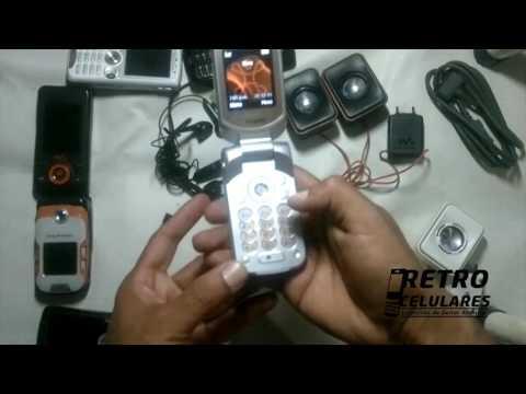 SONY ERICSSON W300 Colección Celulares Clásicos, Antiguos, Viejos Old Cell Phones RETRO CELULARES