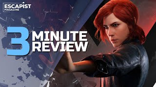 Control | Review in 3 Minutes (Video Game Video Review)