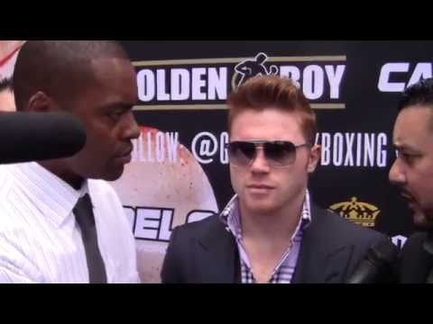 Saul Canelo Alvarez on Fighting Manny Pacquiao