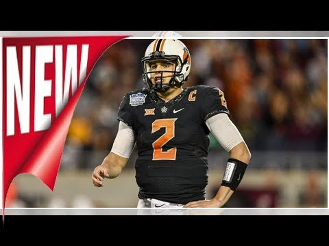 Washington Redskins as Oklahoma State QB Mason Rudolph