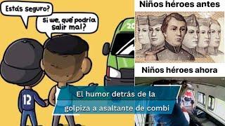 En redes sociales aplaudieron la reacción de los pasajeros  y los cibernautas nos regalaron los mejores memes sobre el caso del ladrón de la México-Texcoco