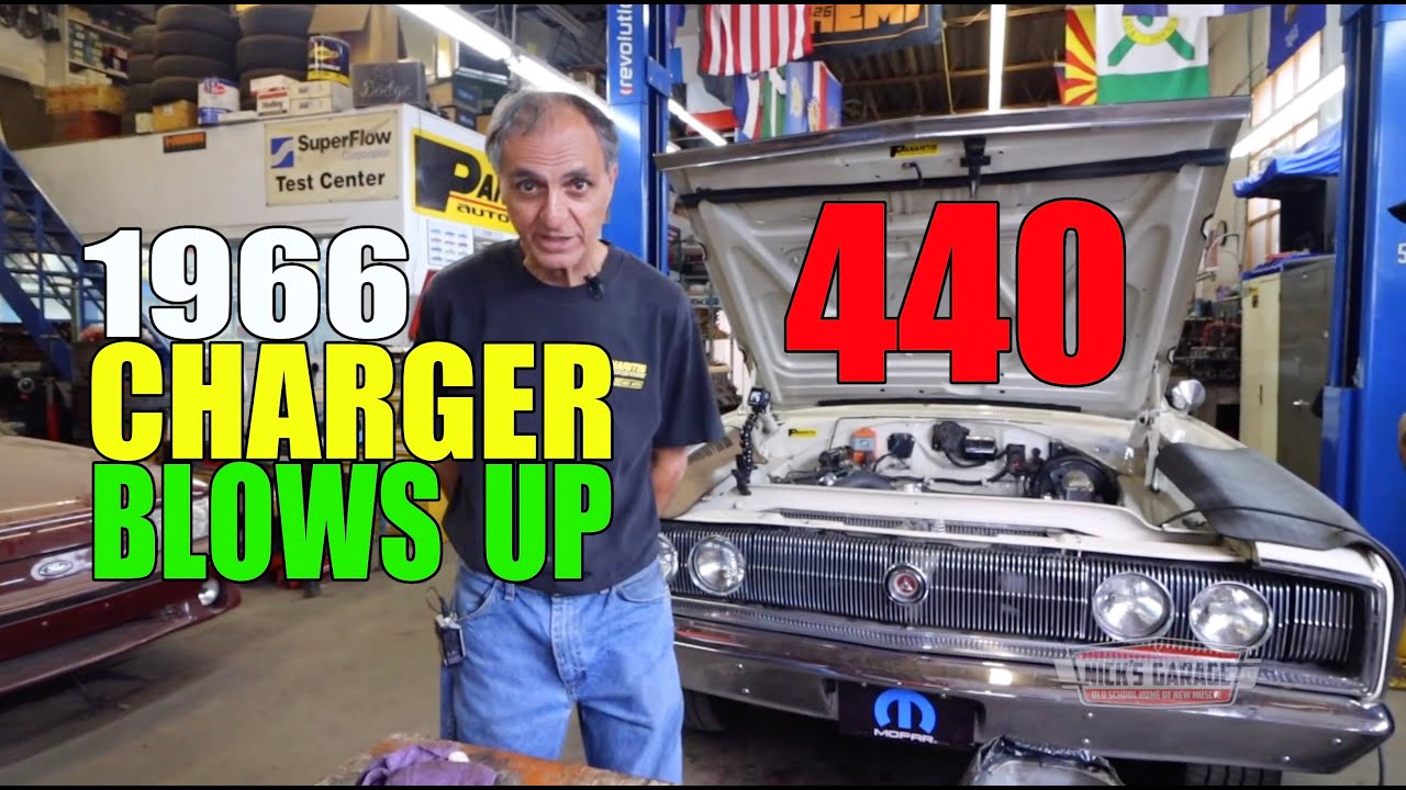 1966 Charger 440 Blows Up - Severe Engine Damage