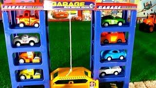 Мультики про машины и трактора. Все серии подряд