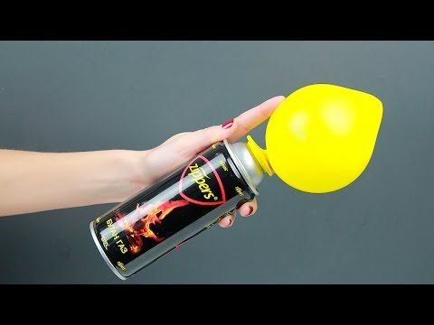 Thumbnail: 4 AWESOME BALLOON LIFE HACKS