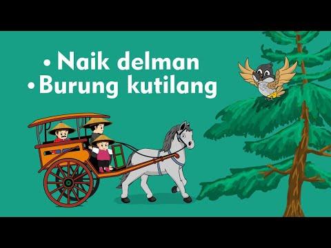 Naik Delman Istimewa - Burung Kutilang - Lagu Anak Indonesia Populer