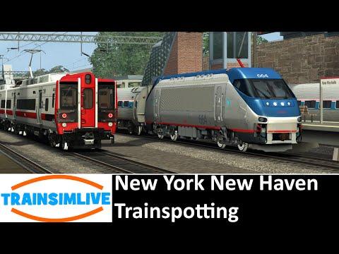 Train Simulator 2016 - New York New Haven, New Rochelle Railfan