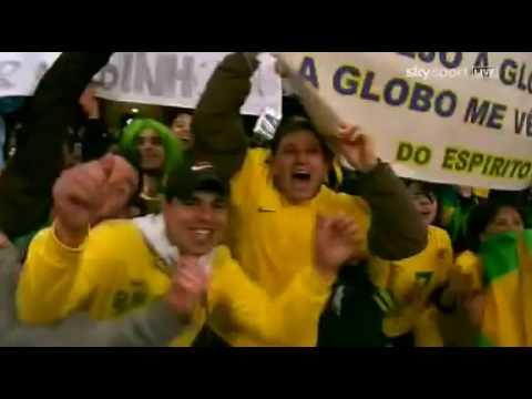 Brazil Vs Republic of Ireland (2-0) All Goals + Highlights - Friendly Match 02/03/2010