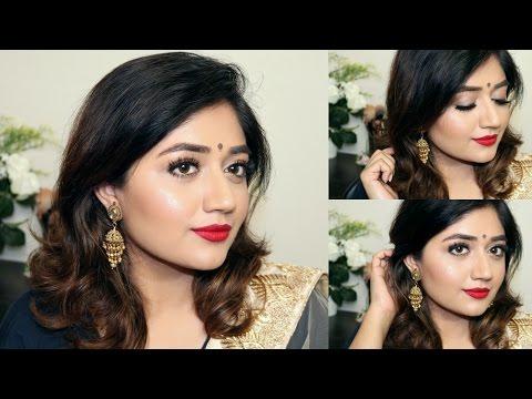 Indian Festive Makeup Tutorial : Red Lips   corallista