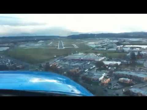 Landing at Mcnary Field